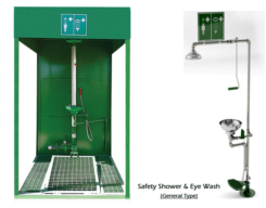 Safety Shower & Eye Wash (General Type)